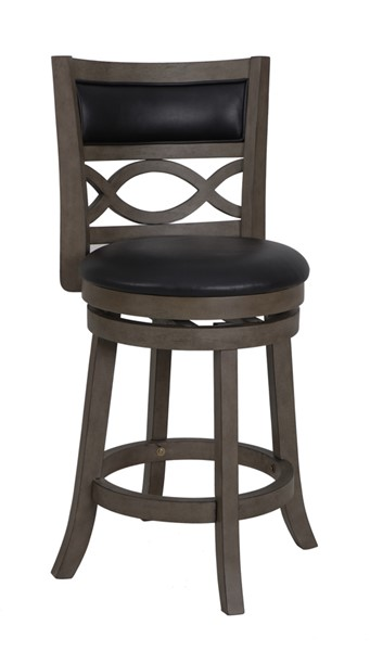 2 New Classic Furniture Manchester Gray 24 Inch Counter Stools NCF-S1128-CS-PG