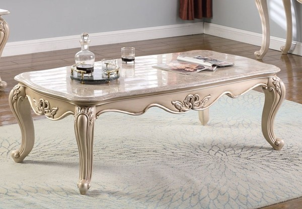 New Classic Furniture Monique Pearl Cocktail Table NCF-T502-10