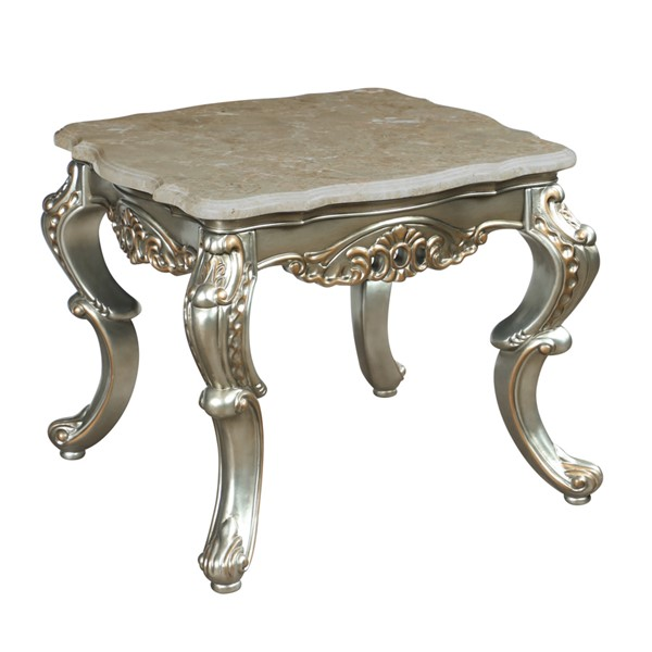 New Classic Furniture Ophelia Gold End Table NCF-T535-20