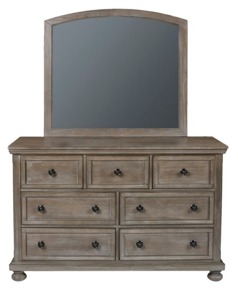 New Classic Furniture Allegra Youth Dresser and Mirror NCF-Y2159-DRMR