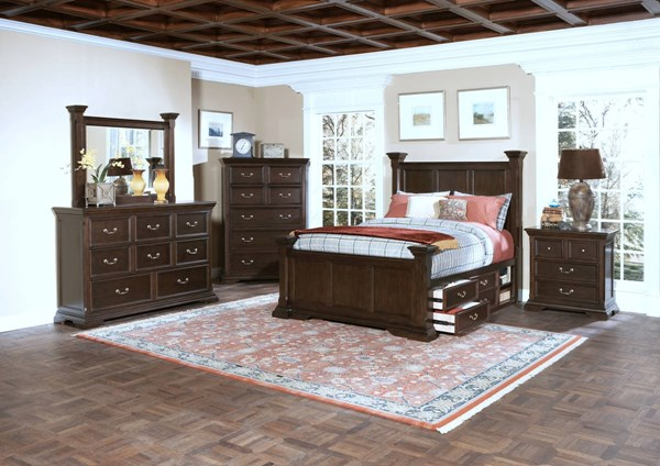 New Classic Furniture Timber City Master Bedroom Set NCF-00-007-BR