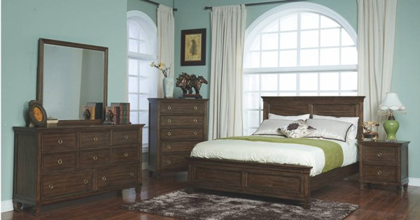 New Classic Furniture Tamarack Master Bedroom Set NCF-00-04-BR