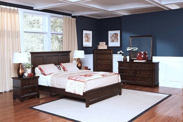 New Classic Furniture Prescott Master Bedroom Set NCF-00-181-BR