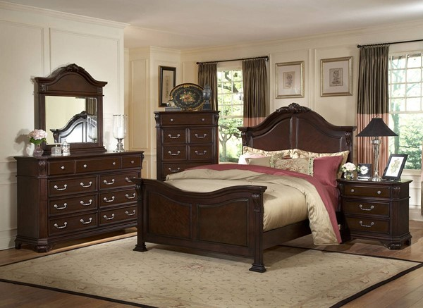 New Classic Furniture Emilie Master Bedroom Set NCF-1841-BR