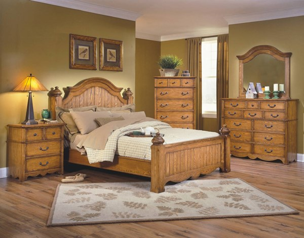 New Classic Furniture Hailey Master Bedroom Set NCF-4431-BR