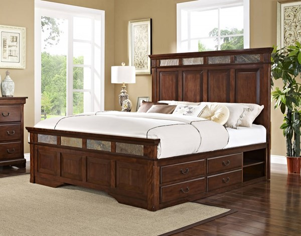 New Classic Furniture Madera Storage Beds NCF-00-455-QSB-VAR