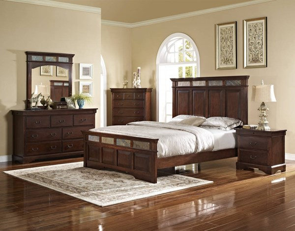 New Classic Furniture Madera Master Bedroom Set NCF-00-455-BR