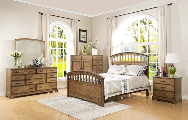 Solana Cocoa Arch Panel Master Bedroom Set NCF-00-534-BR