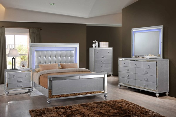 New Classic Furniture Valentino Master Bedroom Set NCF-B9698-BR
