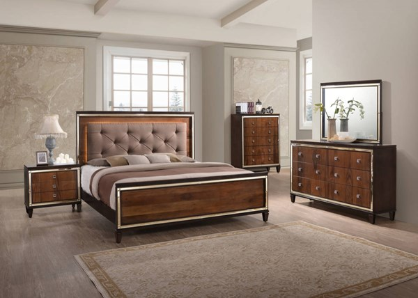 New Classic Furniture Claire Master Bedroom Set NCF-B9720-BR