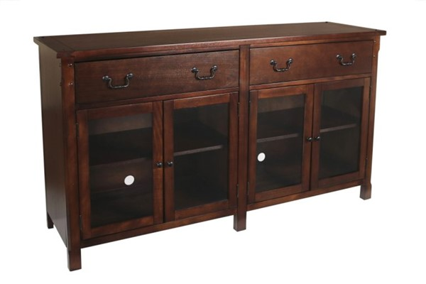 New Classic Furniture Corsica 65 Inch Entertainment Console NCF-10-706-15C