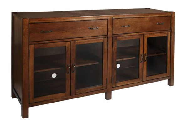 New Classic Furniture Giverny 65 Inch Entertainment Console NCF-10-707-15H