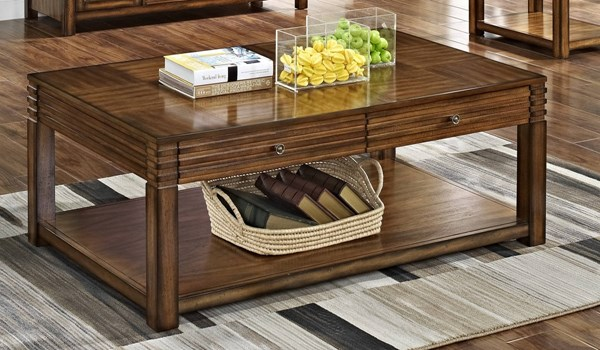 New Classic Furniture Parquet Cocktail Table NCF-30-710-15
