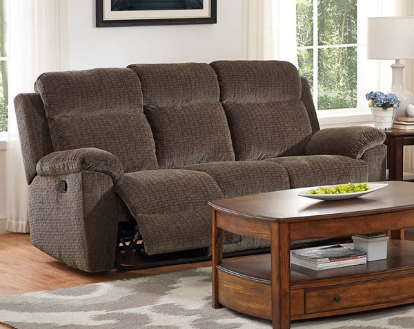 New Classic Furniture Desmond Dual Recliner Sofa NCF-20-2133-30-UCH