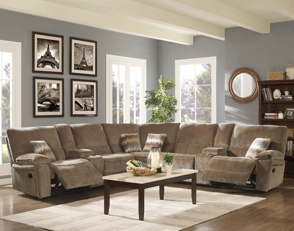 New Classic Furniture Ranger Sectionals NCF-20-2203-LR-S-VAR