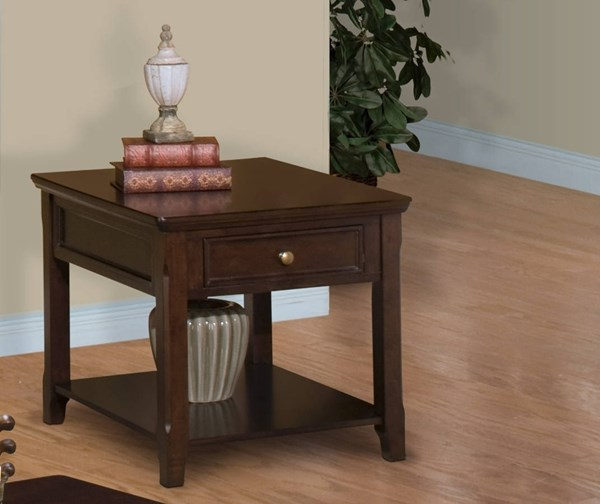 New Classic Furniture Timber City End Table NCF-30-007-20