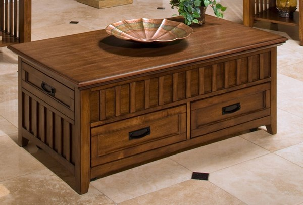 New Classic Furniture Logan Lift Top Cocktail Table NCF-30-100-15