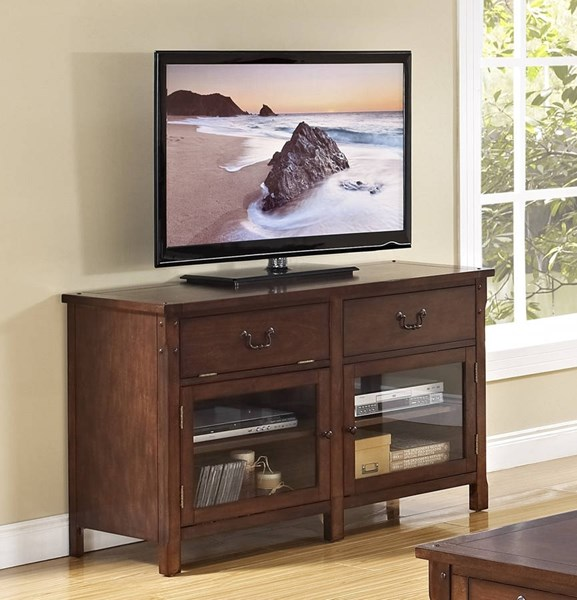 New Classic Furniture Corsica 52 Inch Entertainment Console NCF-10-706-10C