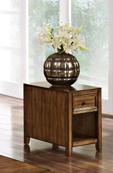 New Classic Furniture Contempo Chairside Table NCF-30-711-23