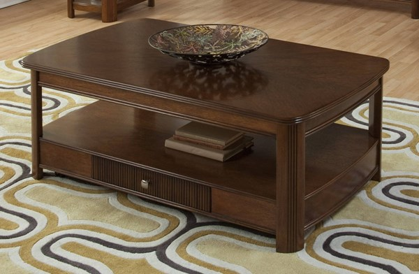 New Classic Furniture Leighla Lift Top Cocktail Table NCF-30-712-15