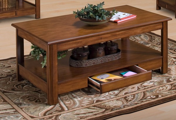 New Classic Furniture Crestline Lift Top Cocktail Table NCF-30-830-15
