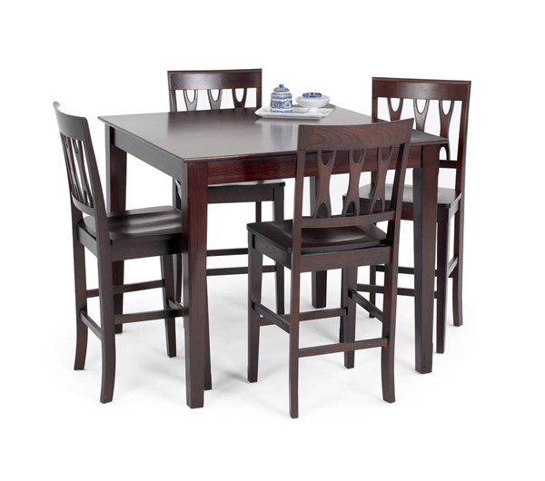 New Classic Furniture Abbie Bordeaux Counter Height Table NCF-04-0640-012