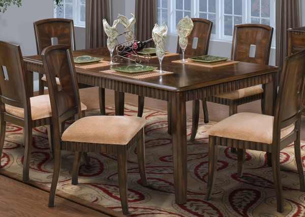 New Classic Furniture Edgemont Dining Table NCF-40-112-10