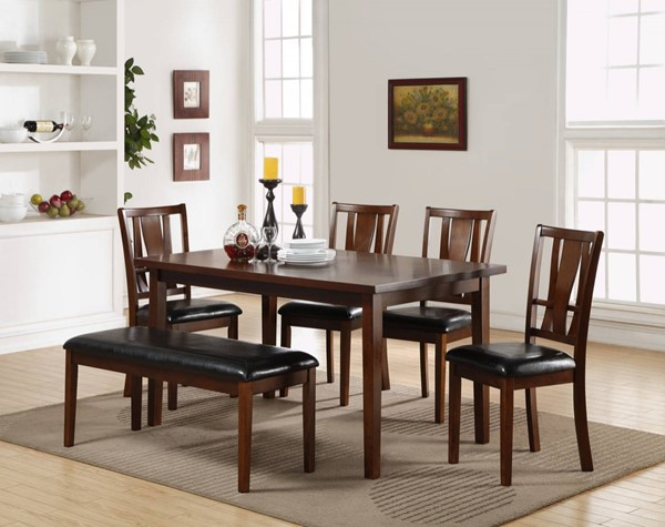 New Classic Furniture Dixon 6pc Dining Room Set NCF-D1426-60S