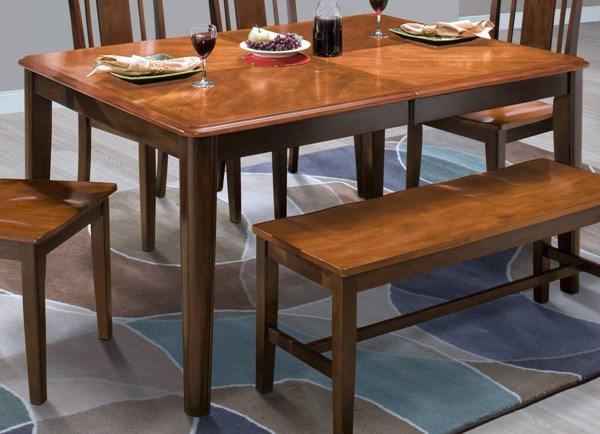 New Classic Furniture Latitudes Round Corner Dining Table NCF-40-160-10T