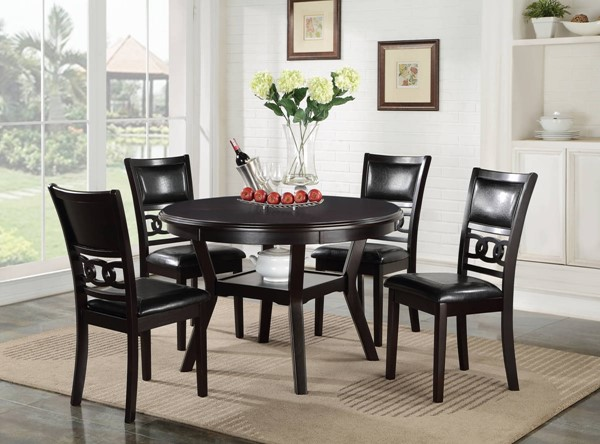 New Classic Furniture Gia 5pc Dining Room Set NCF-D1701-50S
