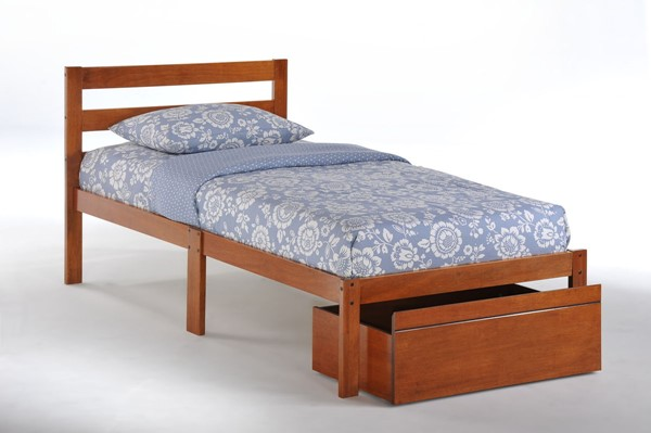 Night and Day Furniture Cherry Twin Bed NDF-BITBD-TWN-CH