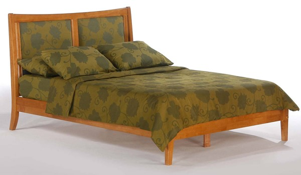 Night and Day Furniture P Series Medium Oak Cal King Chameleon Bed NDF-CHA-PH-CKG-MO-COM