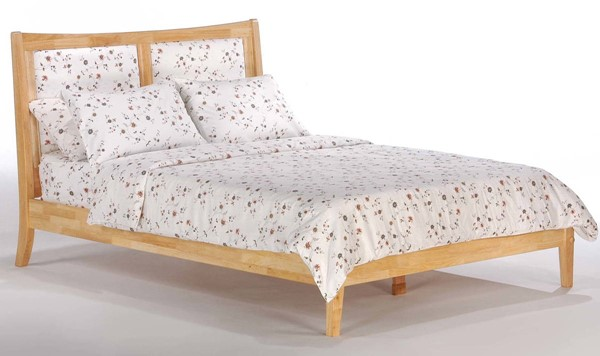 Night and Day Furniture P Series Natural Queen Chameleon Bed NDF-CHA-PH-QEN-NA-COM