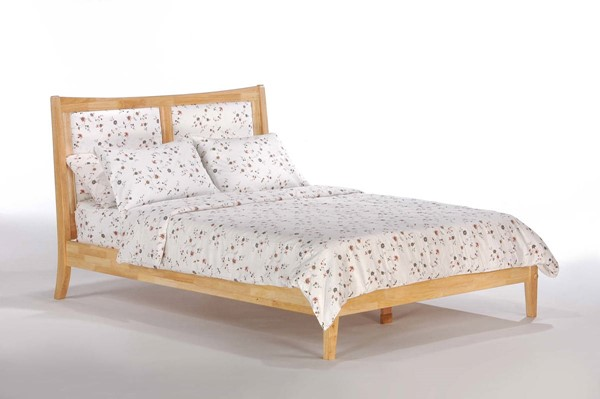 Night and Day Furniture P Series Natural Cal King Chameleon Bed NDF-CHA-PH-CKG-NA-COM