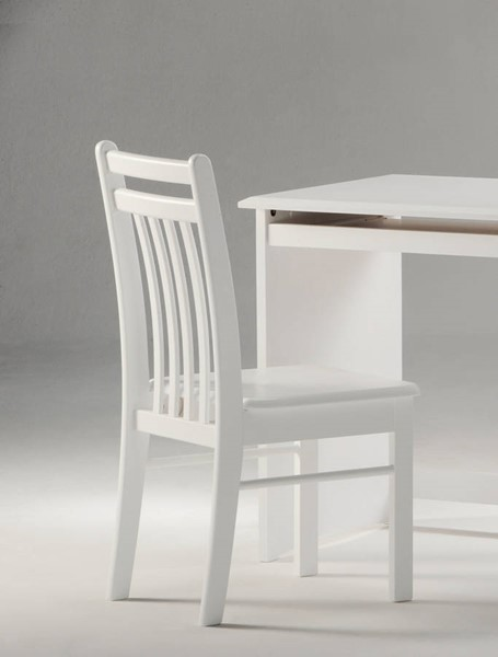 Night and Day Furniture Clove White Chair NDF-CCH-CLO-WH