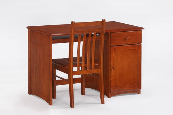 Night and Day Furniture Clove Cherry Student Desk and Chair Sets NDF-CSD-CCH-CLO-VAR