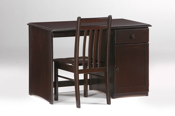 Night and Day Furniture Clove Chocolate Student Desk NDF-CSD-CLO-CHO