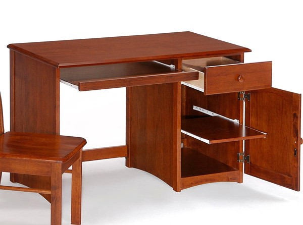 Night and Day Furniture Clove Cherry Student Desks NDF-CSD-CLO-KD-VAR
