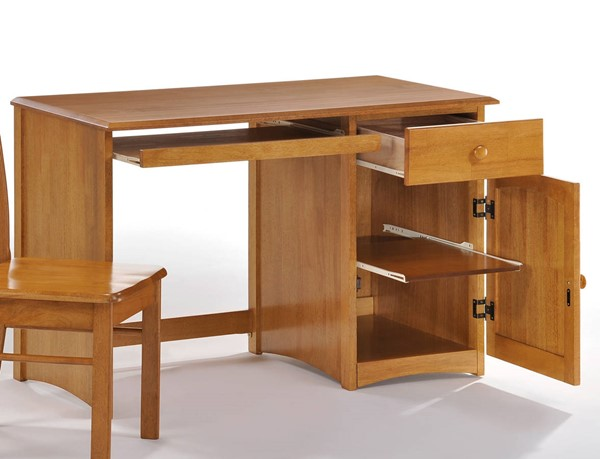 Night and Day Furniture Clove Medium Oak Student Desk NDF-CSD-CLO-MO