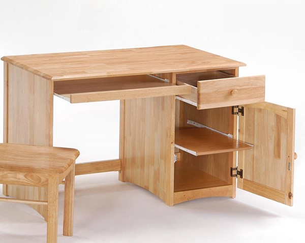 Night and Day Furniture Clove Natural Student Desk NDF-CSD-CLO-NA