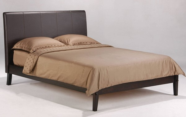 Night and Day Furniture P Series Chocolate Queen Coriander Bed NDF-CRI-PH-QEN-CHO-COM