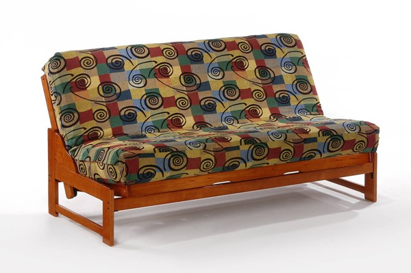 Night and Day Furniture Eureka Cherry Full Futon Frame NDF-BA-EUR-BMG-FUL-CH
