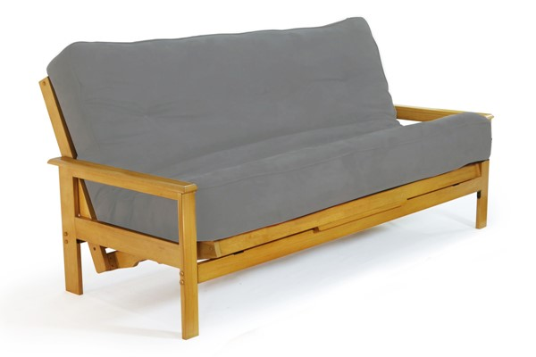 Night and Day Furniture Albany Honey Oak Queen Futon Frame NDF-ABY-BA-BMG-QEN-HO