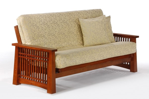 Night and Day Furniture Solstice Cherry Queen Futon Frame NDF-BA-SOL-BMG-QEN-CH