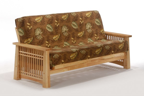Night and Day Furniture Solstice Natural Full Futon Frame NDF-BA-SOL-BMG-FUL-NA