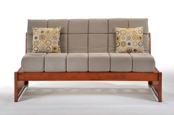 Night and Day Furniture Thomas Jefferson Cherry Daybed NDF-DBK-JEF-TWN-CH-COM