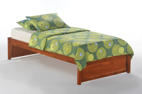 Night and Day Furniture K Series Cherry Twin Basic Platform Beds NDF-KF-BAS-BED-VAR