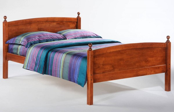 Night And Day Furniture Licorice Cherry Full Bed NDF-YHF-LIC-FUL-CH-COM