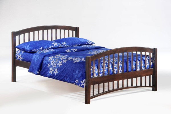 Night and Day Furniture Molasses Chocolate Full Bed NDF-YHF-MOL-FUL-CHO-COM