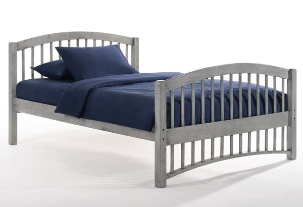 Night And Day Furniture Molasses Grey Full Bed NDF-YHF-MOL-FUL-GY-COM